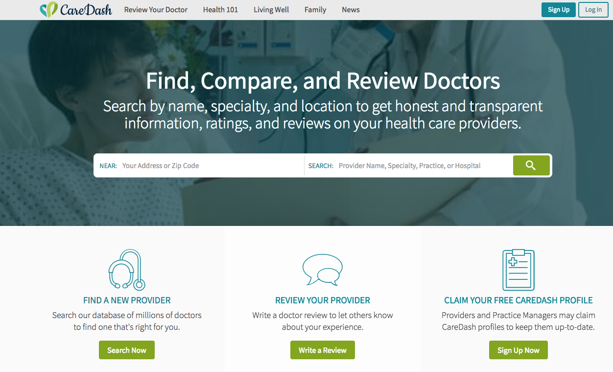 CareDash Sets Itself Apart From Other Doctor Review Sites 5