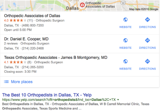 Yes, People Look For Doctors On Yelp Too 3