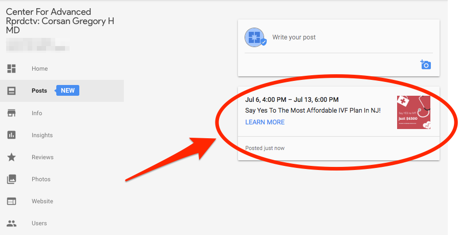 How You Can Get More Patients Using Google My Business Posts 10