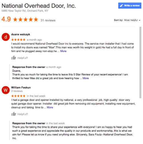 National Overhead Door 1