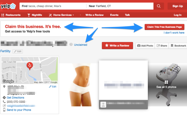 How to Claim Your Yelp Profile 3