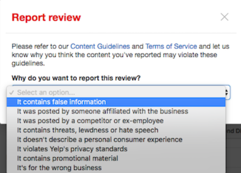 How to Flag Fake or Negative Online Reviews on Google, Facebook, and Yelp 9