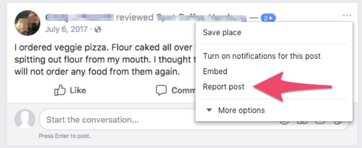How to Flag Fake or Negative Online Reviews on Google, Facebook, and Yelp 6