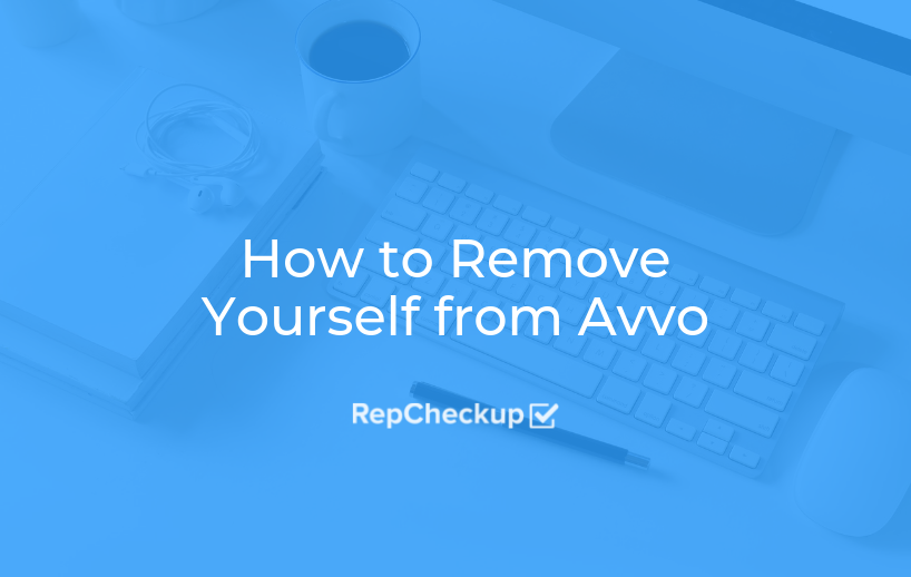 How to Remove Yourself from Avvo 1