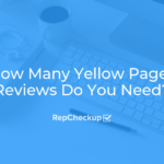 How Many Yellow Pages Reviews Do You Need? 9