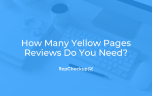 How Many Yellow Pages Reviews Do You Need? 6