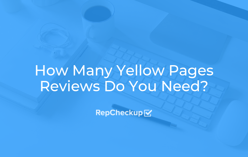 How Many Yellow Pages Reviews Do You Need? 1