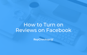 How to Turn on Reviews on Facebook 8