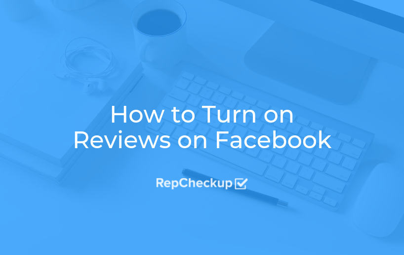 How to Turn on Reviews on Facebook 1