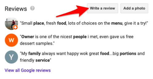 How to Link to Your Google Reviews 3